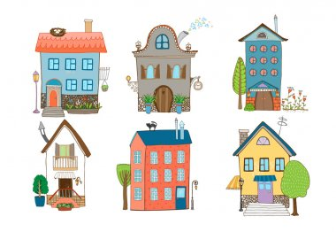 Sweet Home Vector Illustration