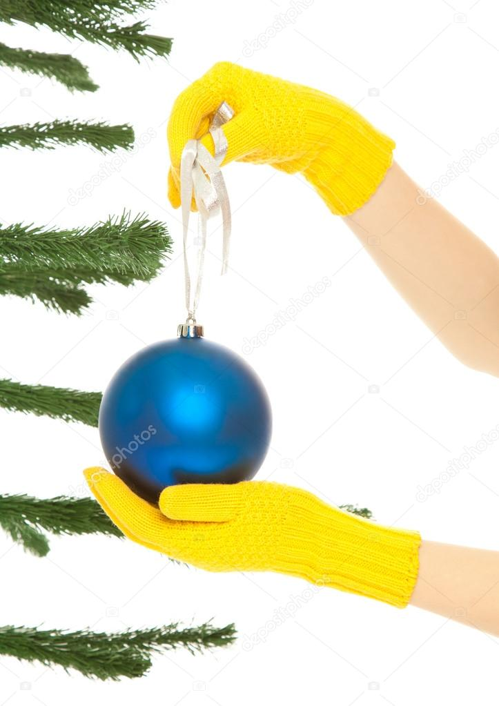 Dressing christmas tree — Stock Photo © Baton72 #13700729