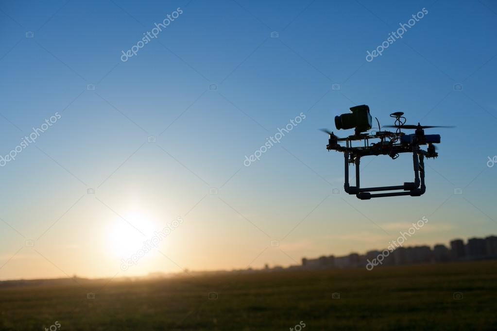 Photo of surveillance drone