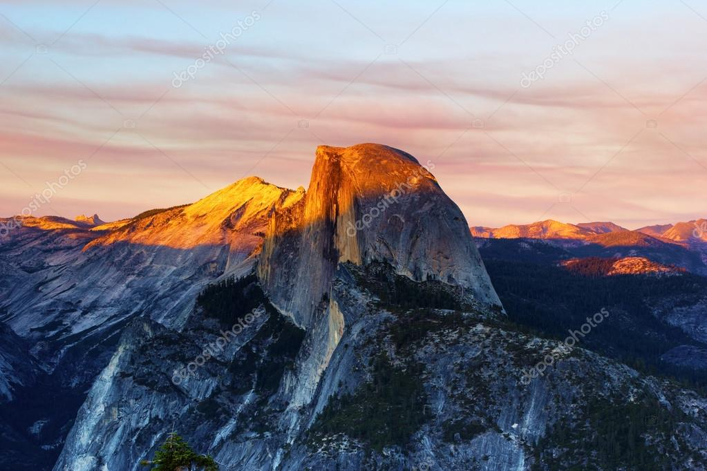 Sunset from Glacier Point