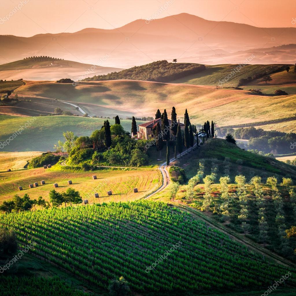 Tuscany - scenic landscape