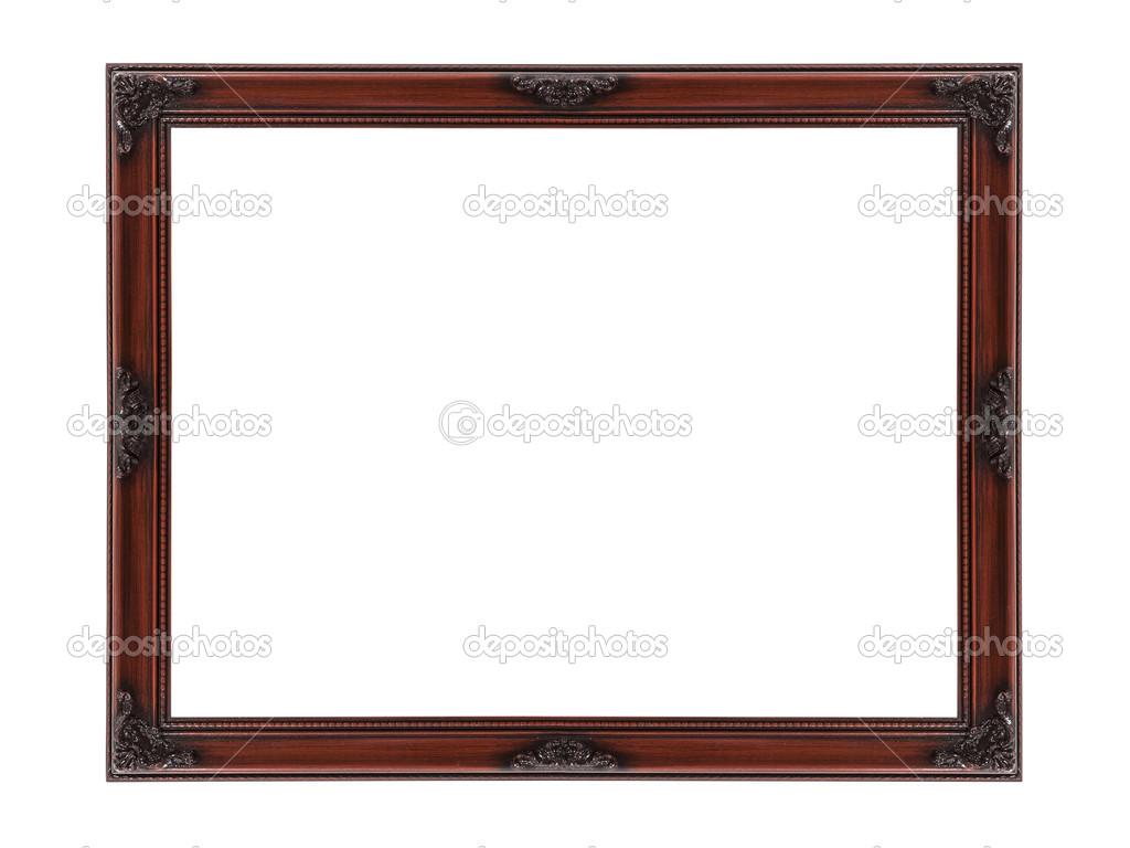 Holz Bilderrahmen ausgeschnitten — Stockfoto © trekandshoot #22955006
