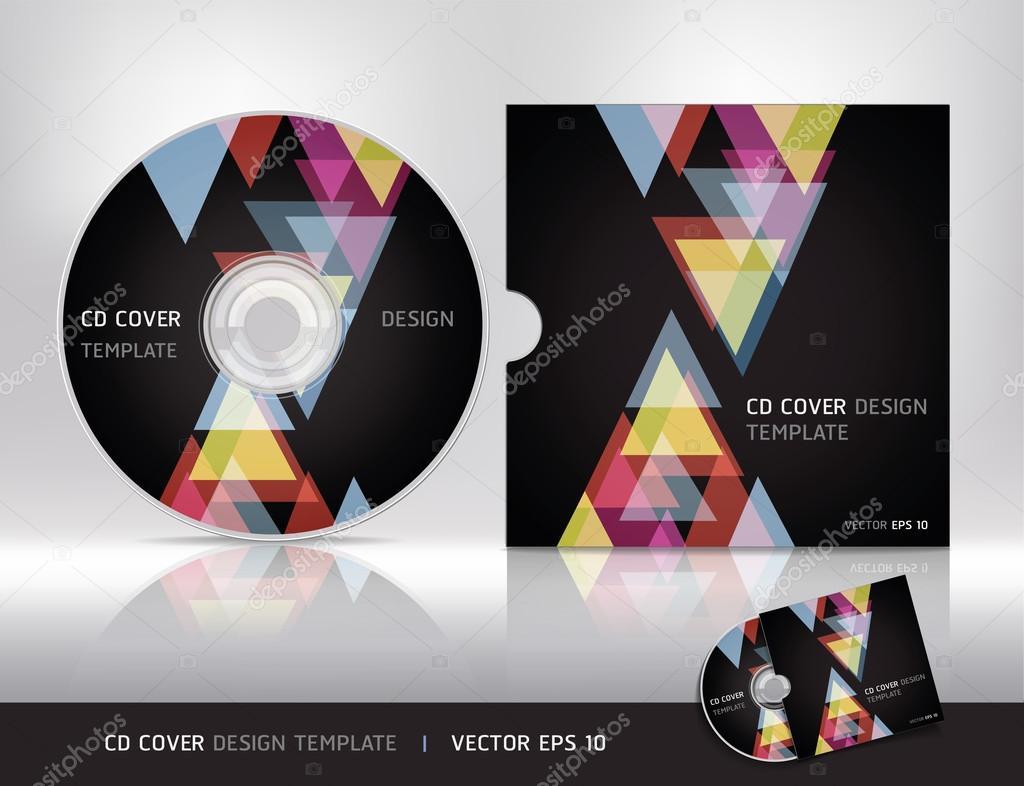 cd 表紙デザイン template vector ストックベクター graphixmania