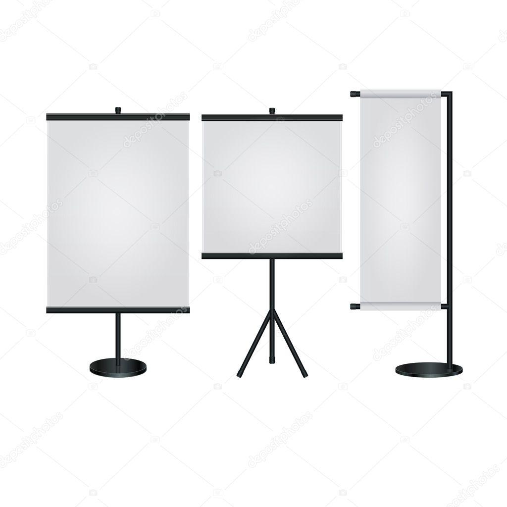 Trade Exhibition Stand Vector : Trade exhibition stand display vector u stock vector