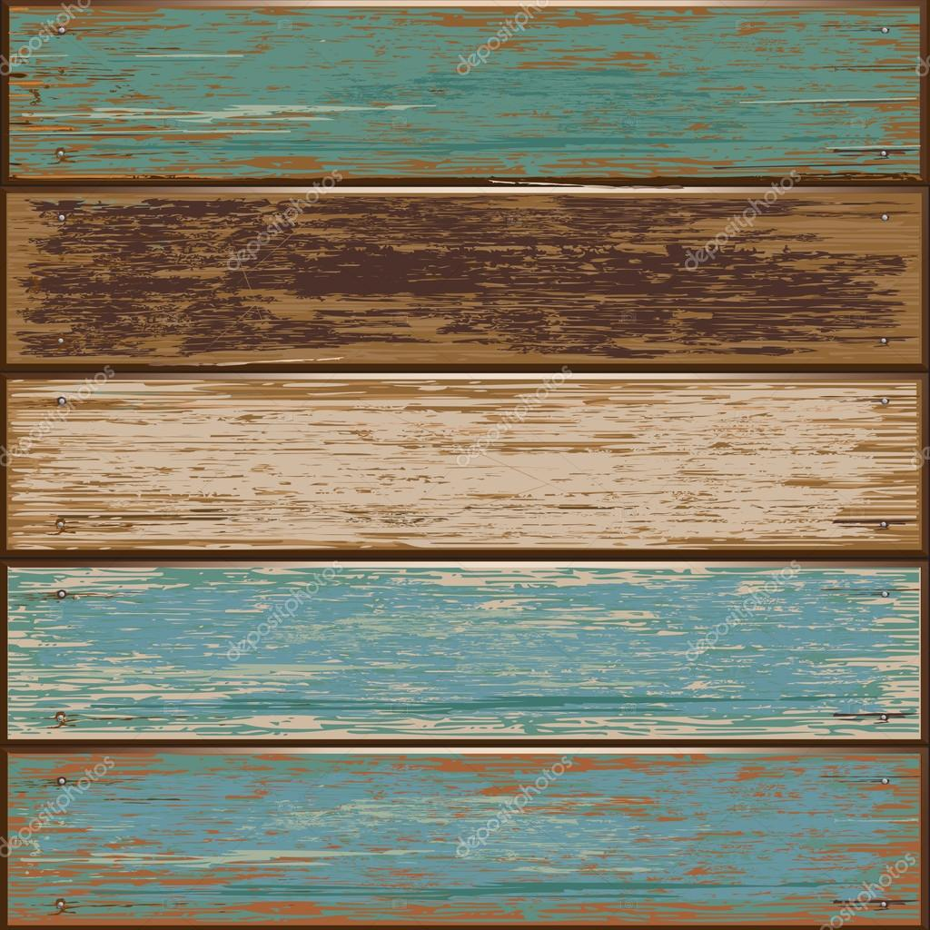 Old color wooden texture background.