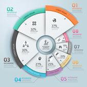 Moderní business infografiky