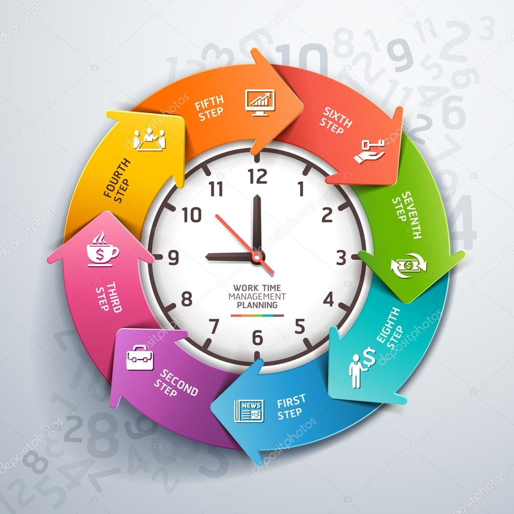 Work time management Vector graphixmania 42478421 – Time Management