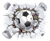 Fotografia pallone da calcio