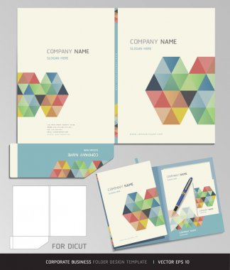 Corporate Identity Business Set.
