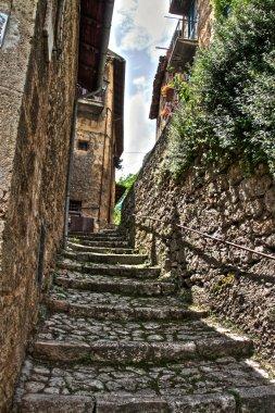 Old medieval alley