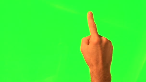 12 touchscreen gesta - mužské ruky