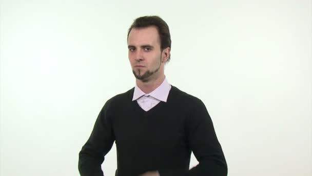macho mladý podnikatel
