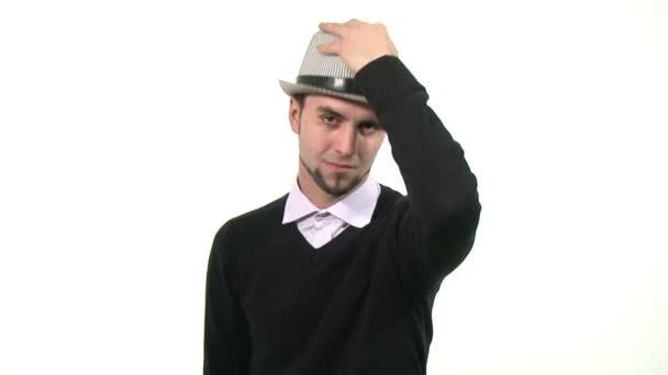 Húzza ki a kalap névjegykártya bűvész