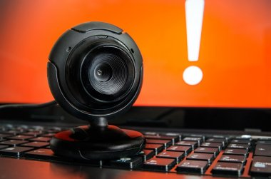 Web surveillance camera. Spying and safety on the Internet