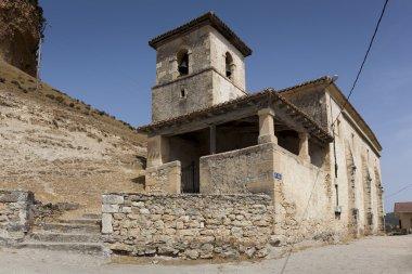 Church, San Pantaleon de Losa, Merindades, Burgos, Castilla y Le