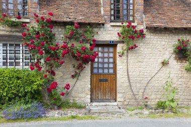 Architecture of Yevre-le-chatel, Loiret, Centre, France