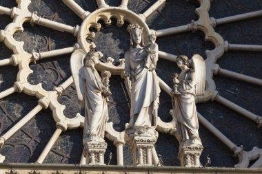 Notre Dame cathedral, Paris, Ile-de-france, France