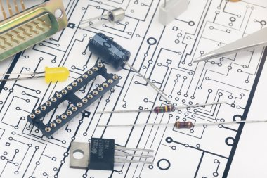 Group of electronic components