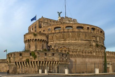 St. Angelo Castle in Rome, Italy