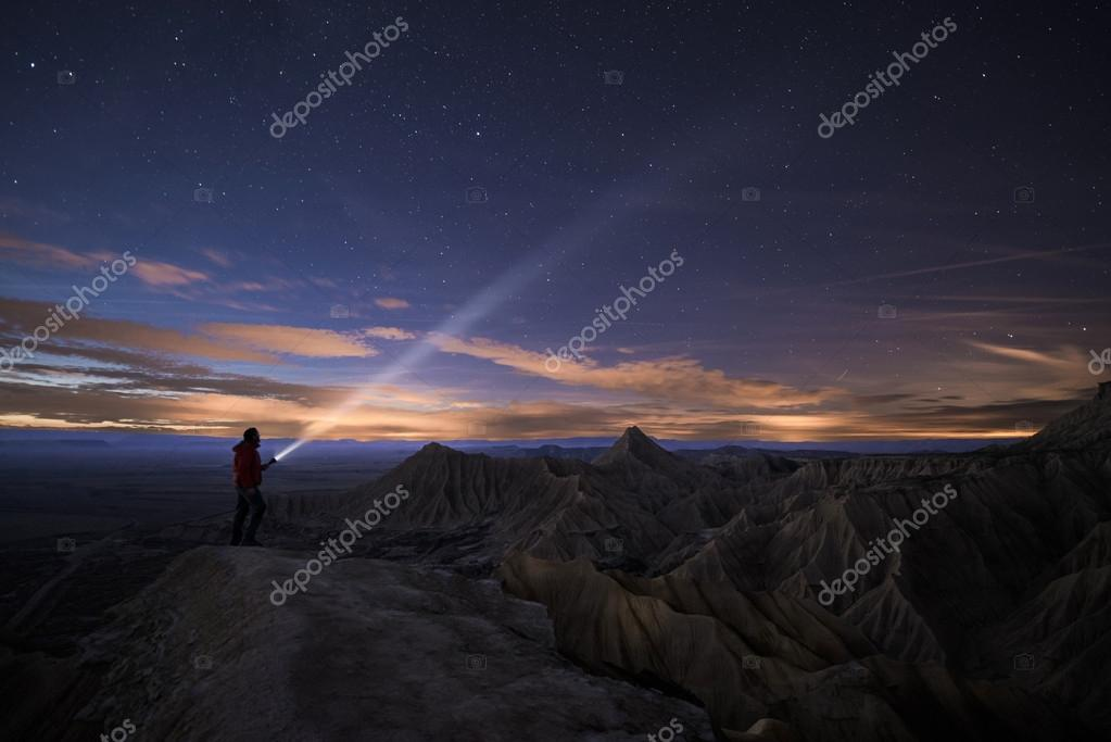 Lighting Up the Night over Bardenas