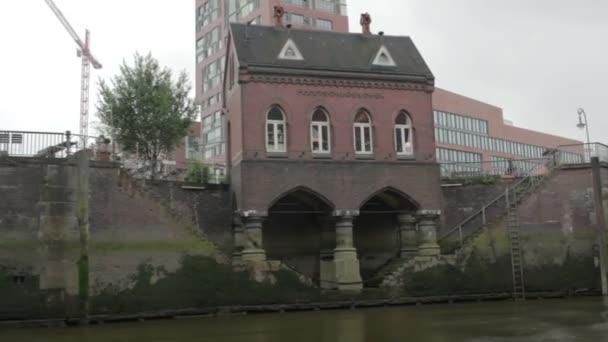 Blick auf den Fluss. Hamburg