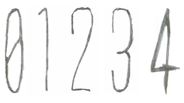 Skica styl interpunkce, čísla a speciální znaky