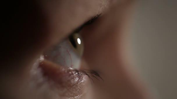 žena oko. zobrazení profilu