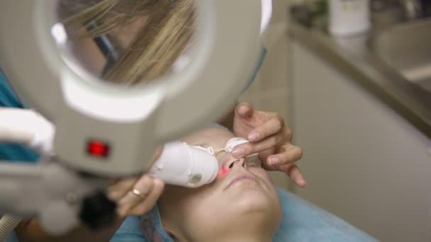 Ultrazvukové a laserové ošetření obličeje