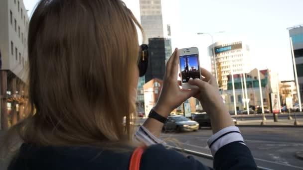 nő fényképeztem a smartphone