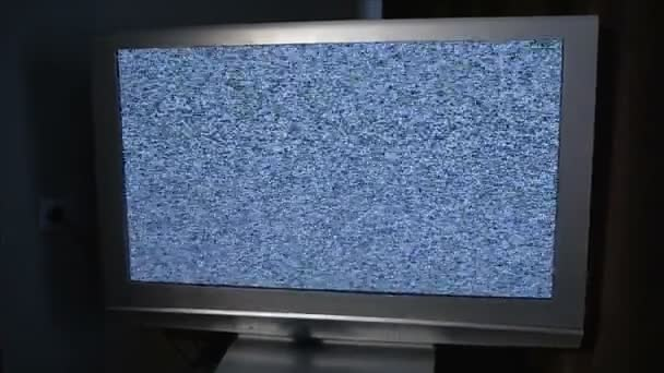 TV képernyő-val zaj