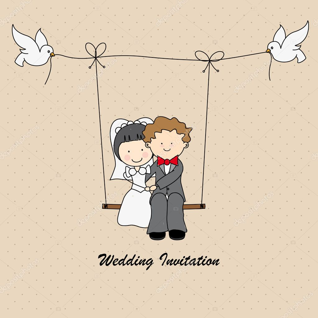 Just married Stock Vectors, Royalty Free Just married Illustrations ...