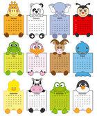 zvířecí kalendář 2014
