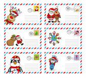 busta per inviare la lettera a Babbo Natale