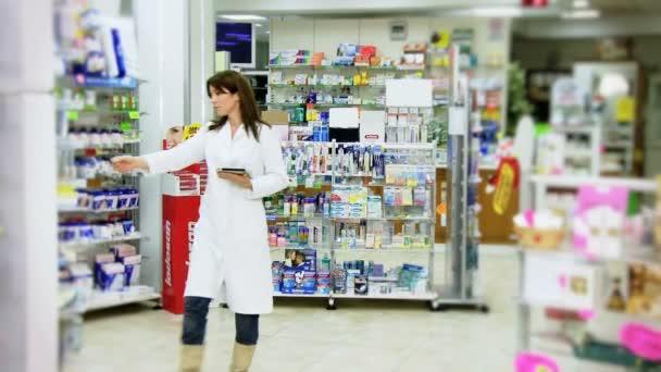 Good looking pharmacist