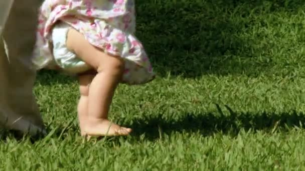první kroky dítěte