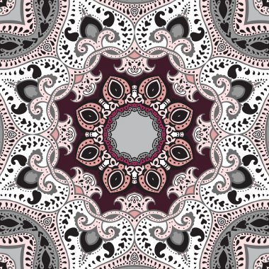 Mandala. Vector ethnic background.
