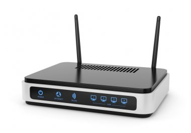 Illustration of wi-fi router