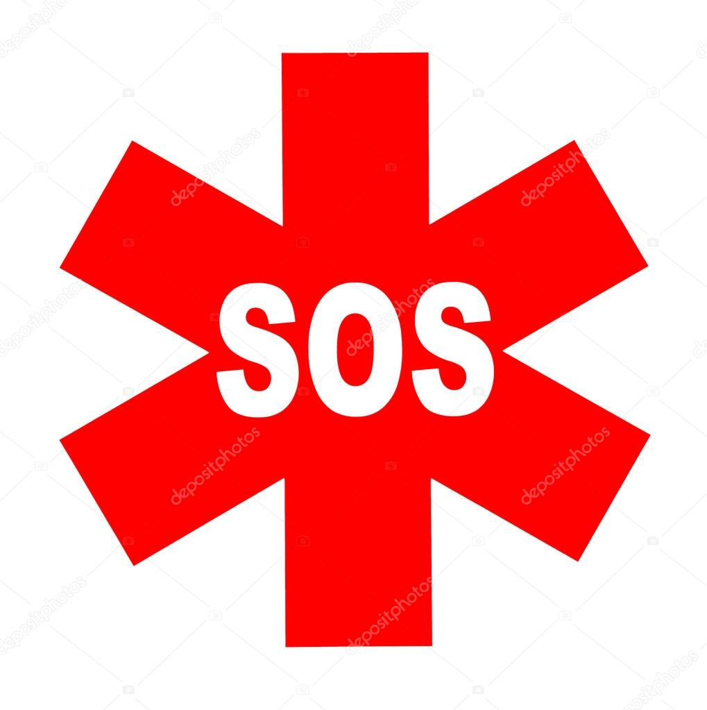 International SOS sign — Stock Photo © Dimedrol68 #33452911