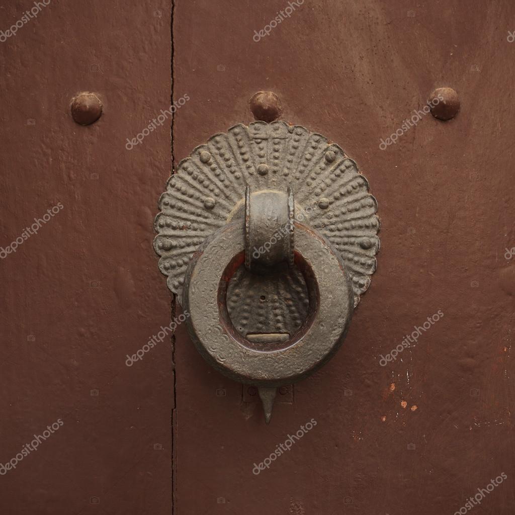 Ancienne Poignée De Porte Ronde Photographie Dimedrol - Poignee de porte ronde en bois