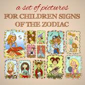 Fényképek csoportja, zodiákus jelek
