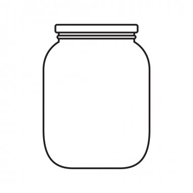 Blank jar with cap