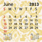 červen 2013 kalendář albín hadí kůže
