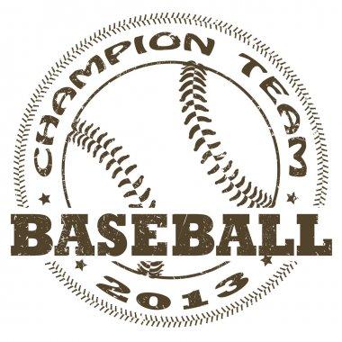 baseball label