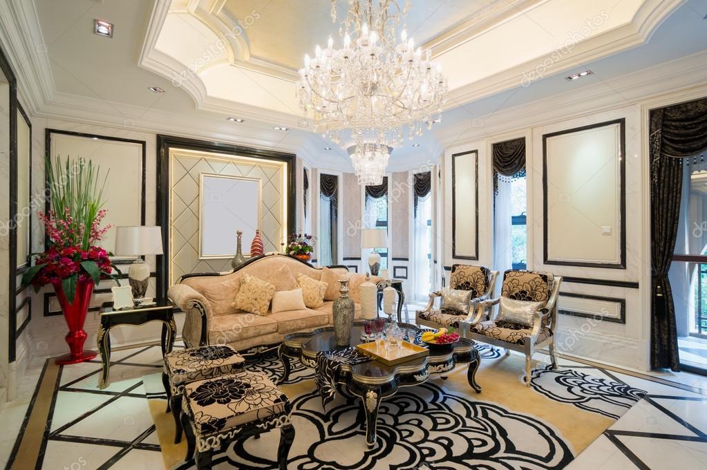 luxus nappali szoba — Stock Fotó © roseburn3djob #36717757