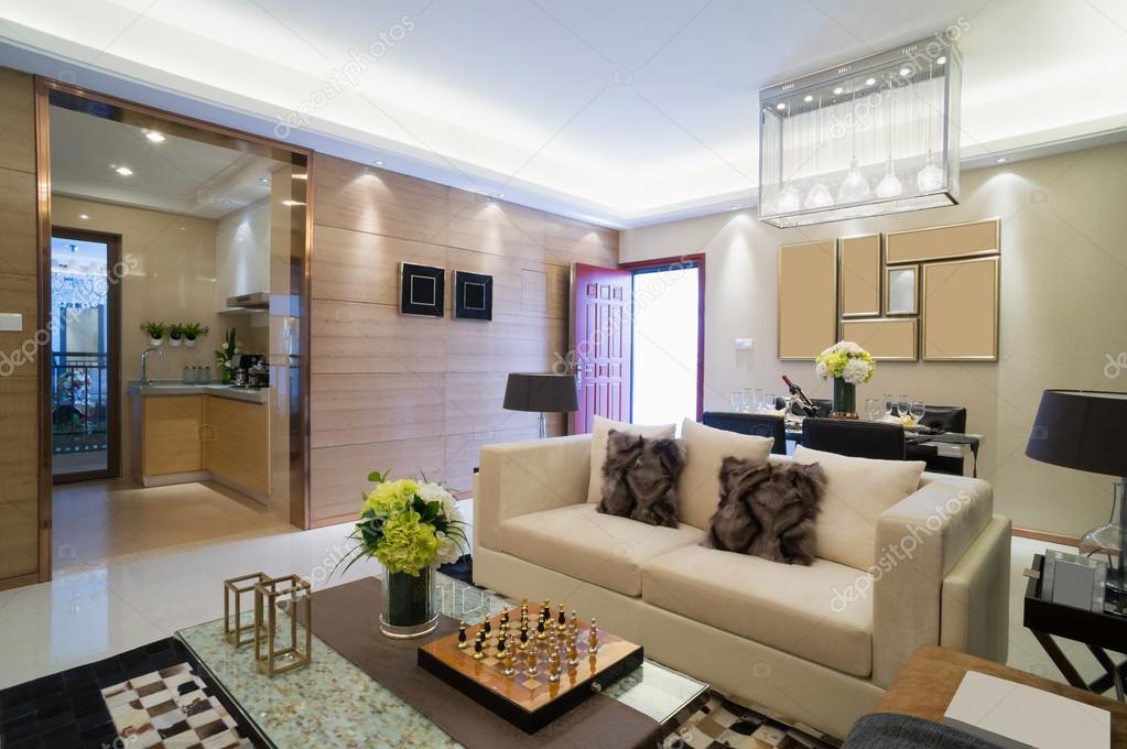 moderne Wohnzimmer — Stockfoto © roseburn3djob #51531763