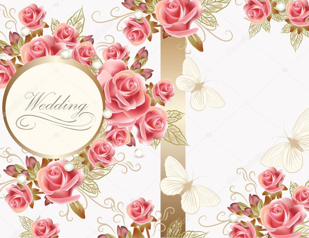 Pink Roses Stock Vectors Royalty Free Pink Roses Illustrations