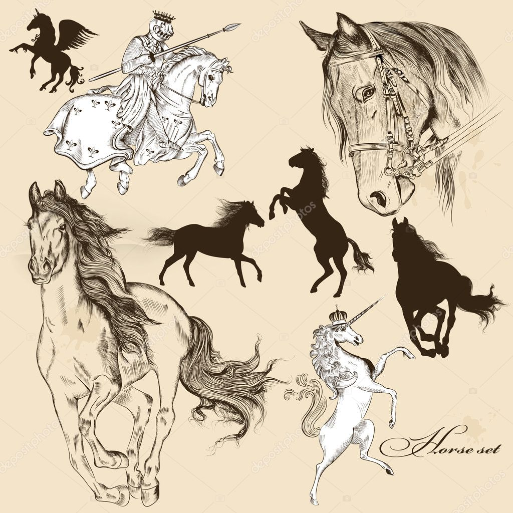 King On Horse Stock Vectors Royalty Free King On Horse Illustrations Depositphotos