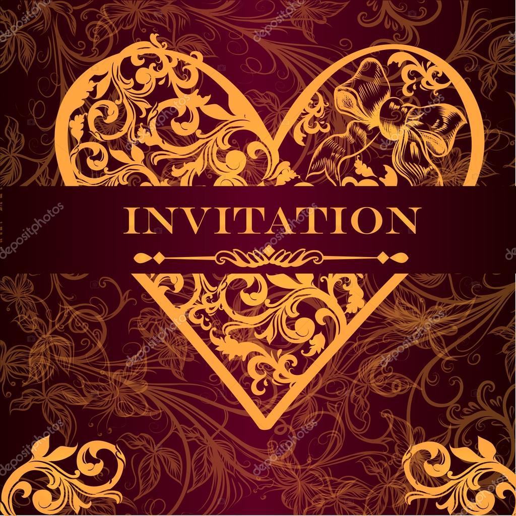 Vector luxury royal invitation card for design stock vector vector luxury royal invitation card for design stock vector stopboris Gallery