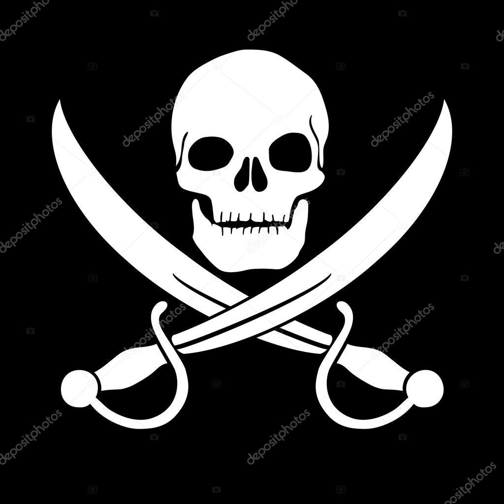 Immagini Di Teschio Pirati pirate skull — stock photo © oculo #24985557