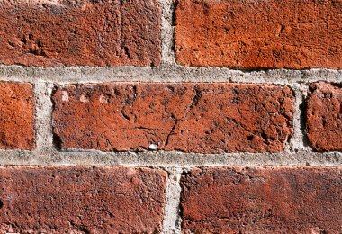 Textured Brick in the Wall